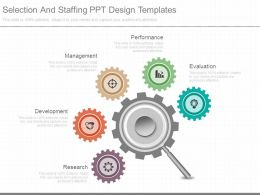 Selection And Staffing Ppt Design Templates