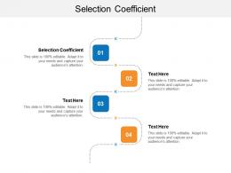 Selection Coefficient Ppt Powerpoint Presentation Inspiration Cpb