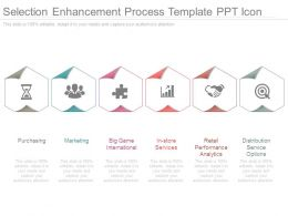 Selection Enhancement Process Template Ppt Icon