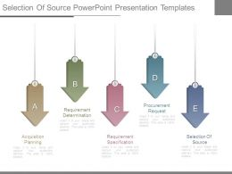 Selection Of Source Powerpoint Presentation Templates