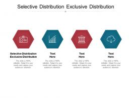 Selective Distribution Exclusive Distribution Ppt Powerpoint Presentation Show Inspiration Cpb