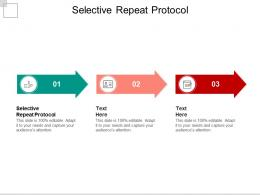 Selective Repeat Protocol Ppt Powerpoint Presentation Outline Icons Cpb