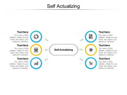 Self Actualizing Ppt Powerpoint Presentation Outline Deck Cpb