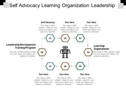 Self Advocacy Learning Organization Leadership Development Training Program Cpb