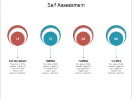 Self Assessment Ppt Powerpoint Presentation File Structure Cpb