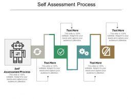 Self Assessment Process Ppt Powerpoint Presentation Ideas Mockup Cpb