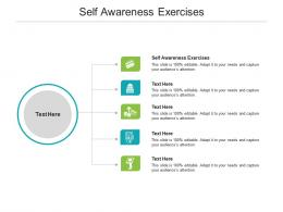 Self Awareness Exercises Ppt Powerpoint Presentation Ideas Layouts Cpb