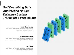 Self Describing Data Abstraction Nature Database System Transaction Processing