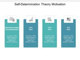 Self Determination Theory Motivation Ppt Powerpoint Presentation Infographic Template Layout Ideas Cpb