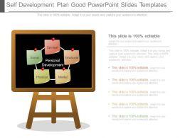 Self Development Plan Good Powerpoint Slides Templates