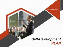 Self Development Plan Powerpoint Presentation Slides