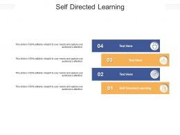 Self Directed Learning Ppt Powerpoint Presentation File Outline Cpb