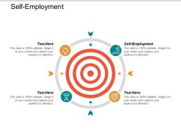 Self Employment Ppt Powerpoint Presentation Icon Format Ideas Cpb