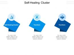 Self Healing Cluster Ppt Powerpoint Presentation Pictures Graphics Cpb