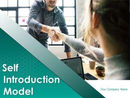 Self Introduction Model Powerpoint Presentation Slides