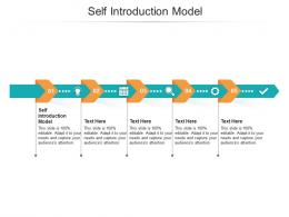Self Introduction Model Ppt Powerpoint Presentation Icon Outfit Cpb