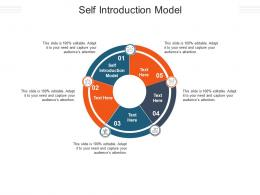 Self Introduction Model Ppt Powerpoint Presentation Styles Tips Cpb