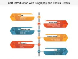 Self Introduction With Biography And Thesis Details