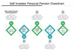 Self Invested Personal Pension Drawdown Ppt Powerpoint Presentation Layouts Templates Cpb