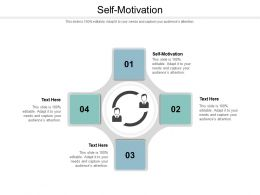 Self Motivation Ppt Powerpoint Presentation Show Files Cpb