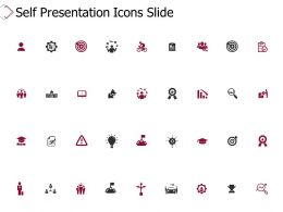 Self Presentation Icons Slide Agenda Ppt Powerpoint Presentation Infographics Ideas