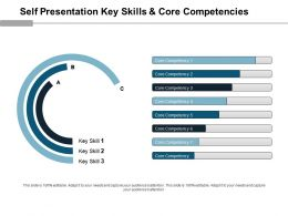 Self Presentation Key Skills And Core Competencies Powerpoint Ideas