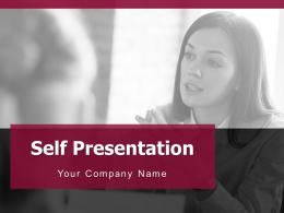 Self Presentation Powerpoint Presentation Slides