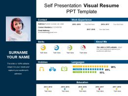 High Quality Self_presentation_visual_resume_ppt_template_Slide01;  Self_presentation_visual_resume_ppt_template_Slide02 ... On Resume Ppt