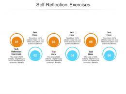 Self Reflection Exercises Ppt Powerpoint Presentation Portfolio Samples Cpb