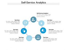 Self Service Analytics Ppt Powerpoint Presentation File Outfit Cpb