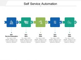 Self Service Automation Ppt Powerpoint Presentation Layouts Slide Download Cpb