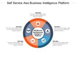 Self Service Aws Business Intelligence Platform Ppt Powerpoint Presentation Icon Good Cpb