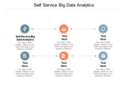 Self Service Big Data Analytics Ppt Powerpoint Presentation Infographic Template Portfolio Cpb