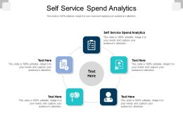 Self Service Spend Analytics Ppt Powerpoint Presentation Icon Themes Cpb