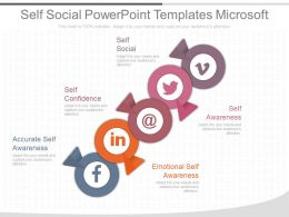 Self Social Powerpoint Templates Microsoft