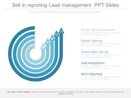 Sell In Reporting Lead Management Ppt Slide