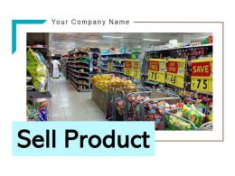 Sell Product Businessmann Marketing Individual Services