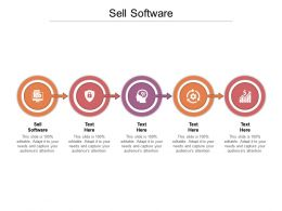 Sell Software Ppt Powerpoint Presentation Portfolio Infographics Cpb