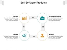 Sell Software Products Ppt Powerpoint Presentation Slides Gallery Cpb