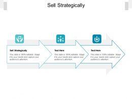 Sell Strategically Ppt Powerpoint Presentation Portfolio Master Slide Cpb