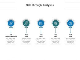 Sell Through Analytics Ppt Powerpoint Presentation Professional Show Cpb