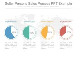 Seller Persons Sales Process Ppt Example