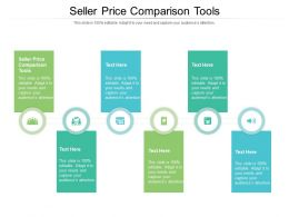 Seller Price Comparison Tools Ppt Powerpoint Presentation Show Deck Cpb