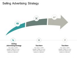 Selling Advertising Strategy Ppt Powerpoint Presentation Gallery Demonstration Cpb