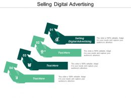 Selling Digital Advertising Ppt Powerpoint Presentation Infographic Template Guidelines Cpb