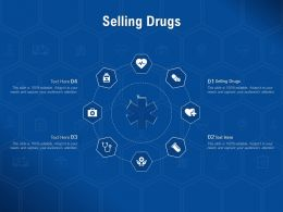 Selling Drugs Ppt Powerpoint Presentation Model Slideshow