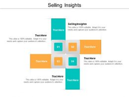 Selling Insights Ppt Powerpoint Presentation Slides Gridlines Cpb