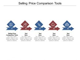 Selling Price Comparison Tools Ppt Powerpoint Presentation Model Inspiration Cpb