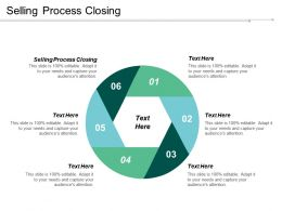 Selling Process Closing Ppt Powerpoint Presentation Ideas Information Cpb