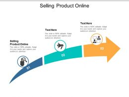 Selling Product Online Ppt Powerpoint Presentation Styles Format Cpb